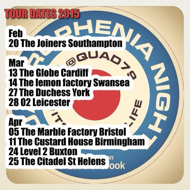 Quadrophenia Night @ O2 Academy 3 Birmingham - Birmingham, United Kingdom