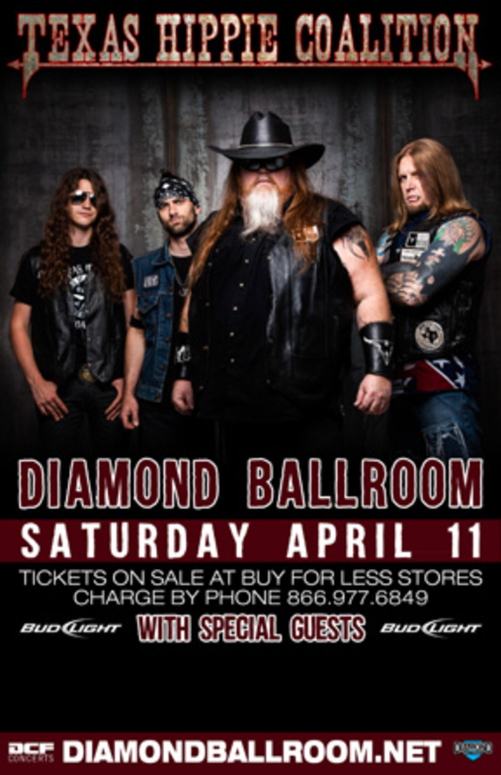 Texas Hippie Coalition @ Diamond Ballroom - Oklahoma City, OK