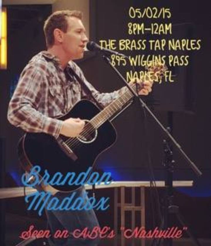 Brandon Maddox Tour Dates