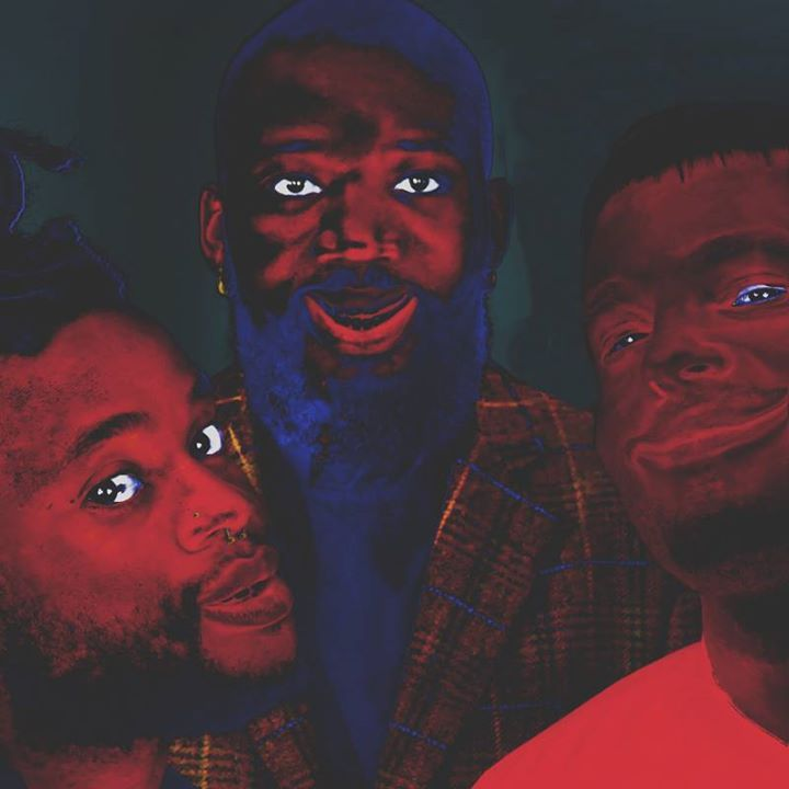 Young Fathers @ LE MANEGE - Lorient, France