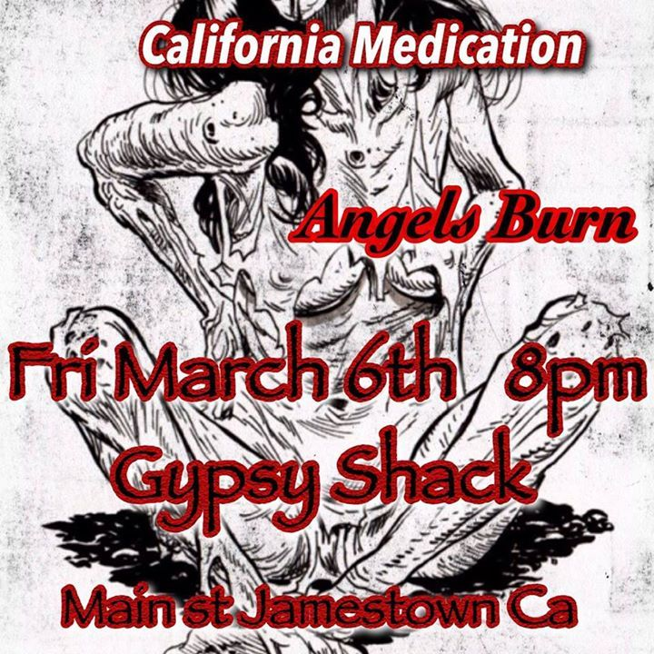 California Medication @ Fat Cat Music House Lounge - Modesto, CA
