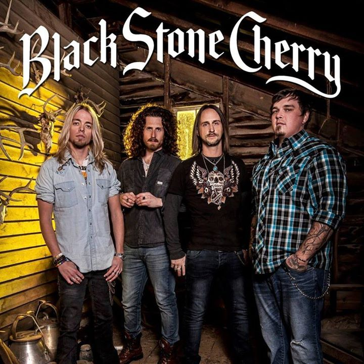 Black Stone Cherry @ White River Amphitheatre - Auburn, WA