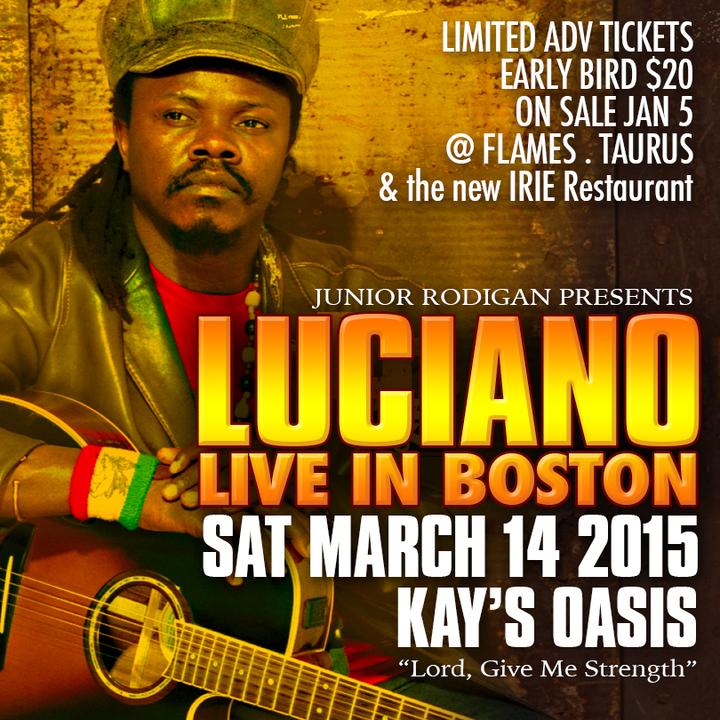 Luciano Jahmessenjah @ Kay's Oasis - Boston, MA