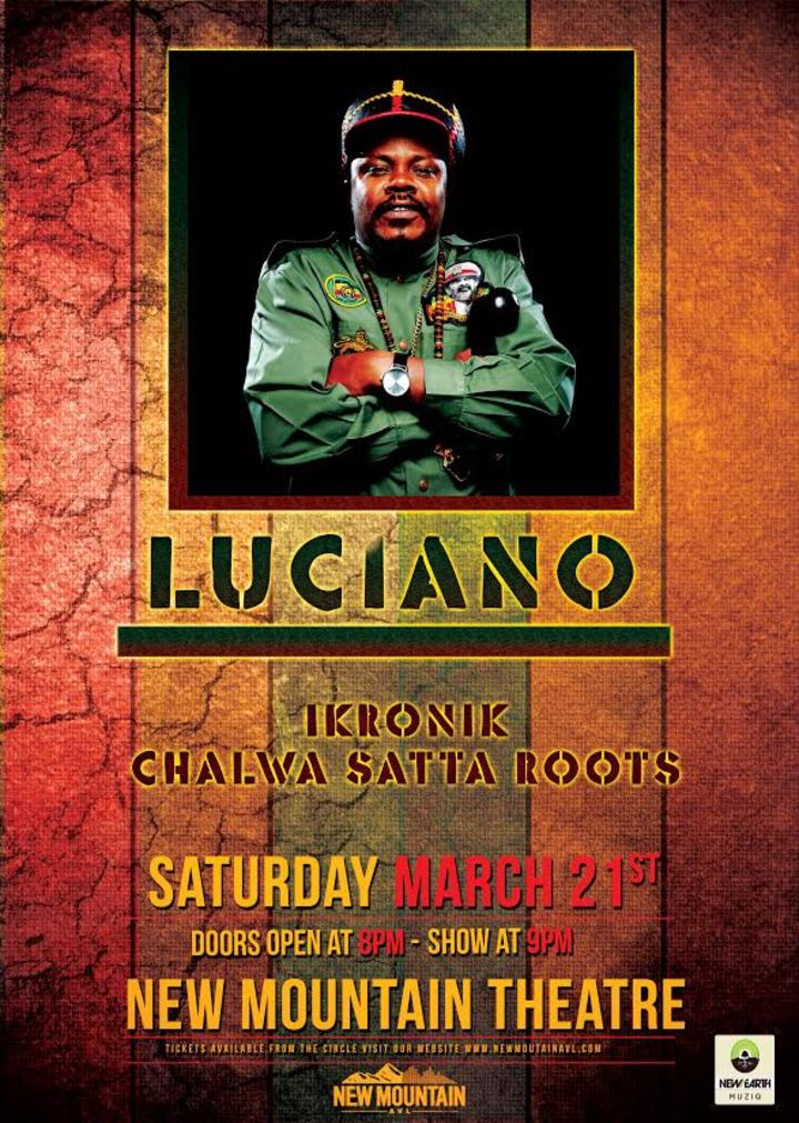 Luciano Jahmessenjah @ New Mountain Theatre - Asheville, NC