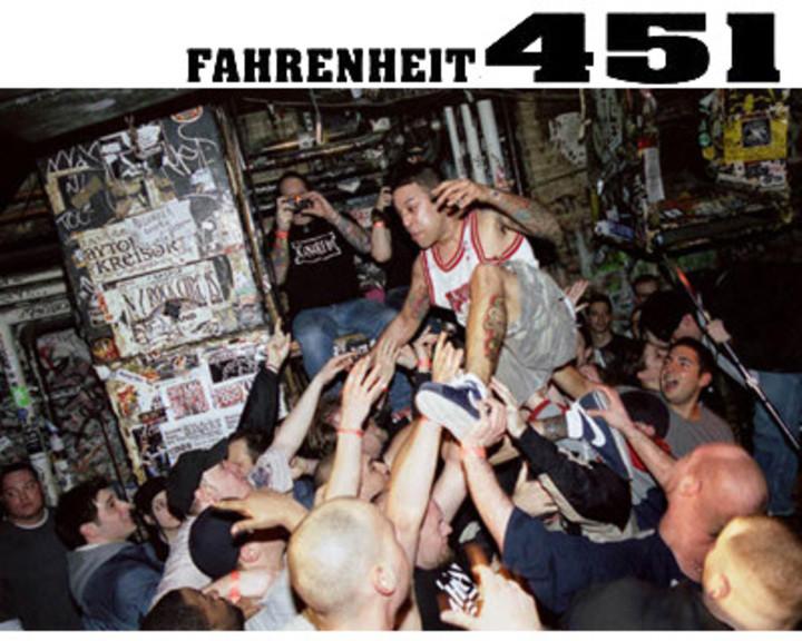 Fahrenheit 451 Tour Dates