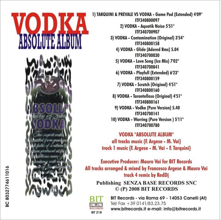 Vodka Tour Dates