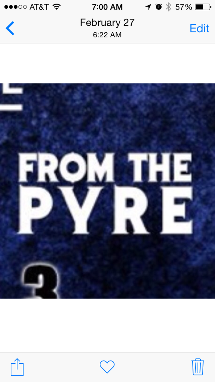 From the Pyre Tour Dates