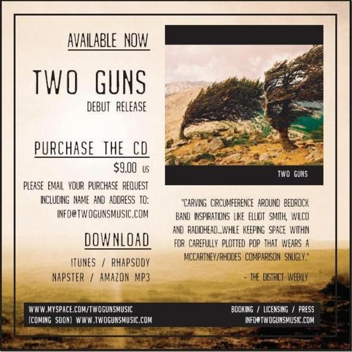Two Guns Tour Dates