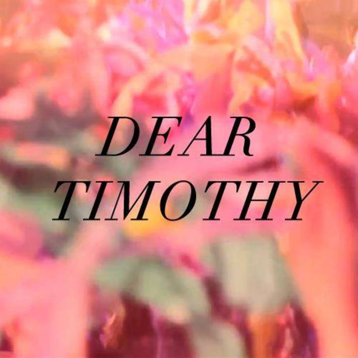 Dear Timothy Tour Dates