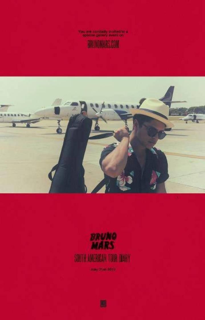 Bruno mars fan Tour Dates