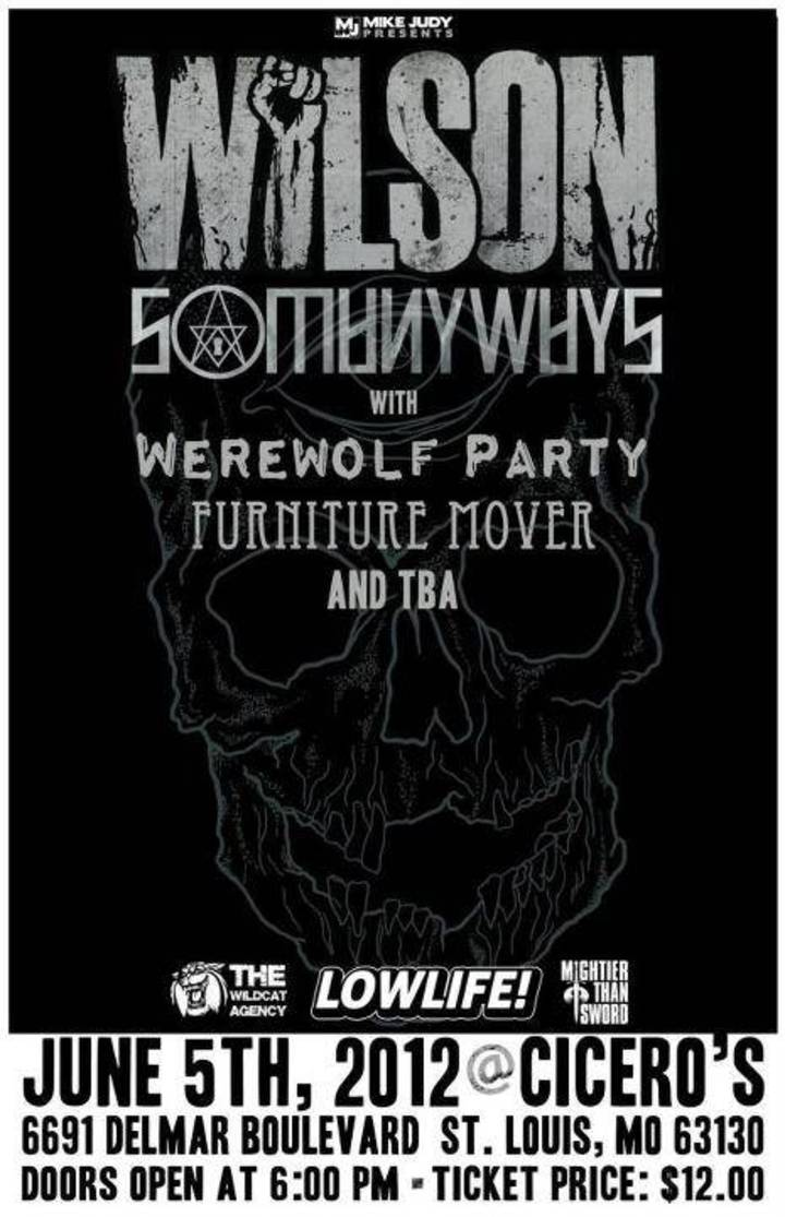 Werewolf Party Tour Dates