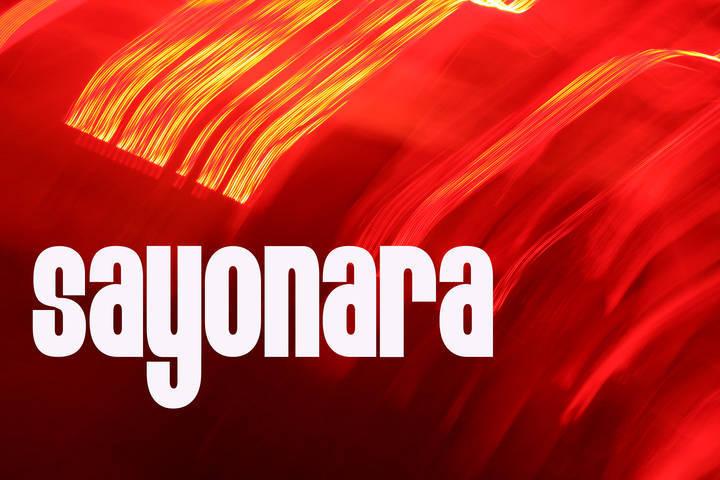 Sayonara Tour Dates