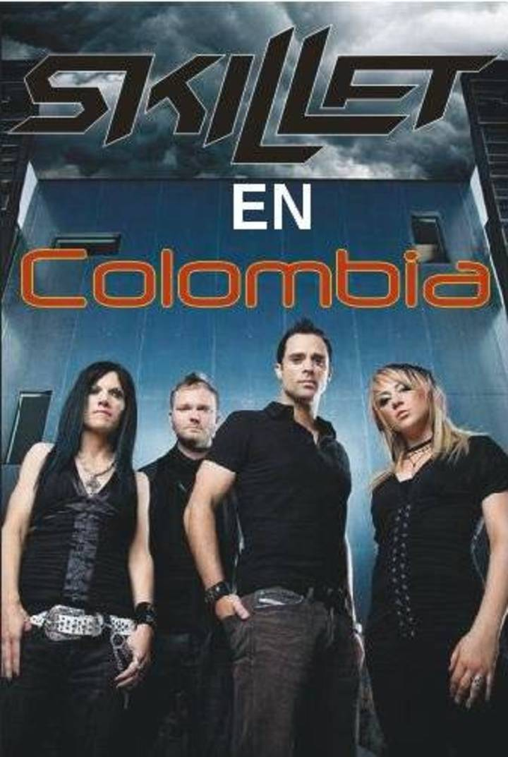 Skillet En Colombia Tour Dates