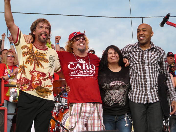 sammy hagar and the wabos @ Sands Bethlehem Event Center - Bethlehem, PA