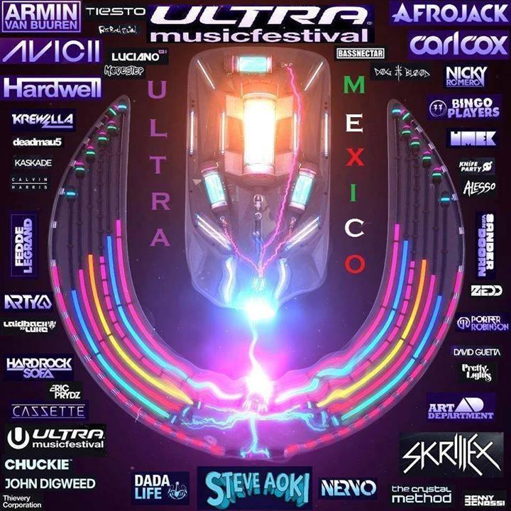 UMF México Campaña Tour Dates