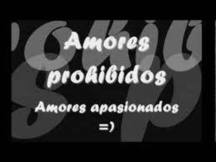 AMOR PROHIBIDO Tour Dates