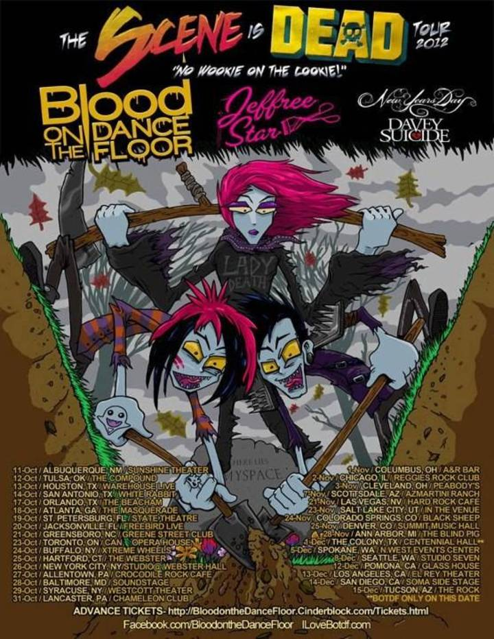 The Scene Is Dead Tour Tour Dates