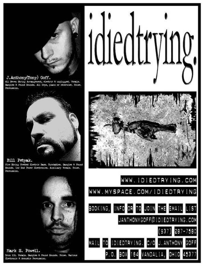 Idiedtrying Tour Dates