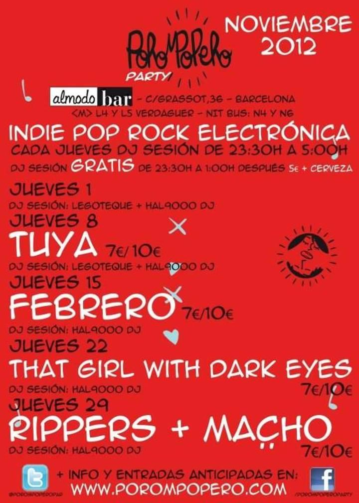 Porompopero Party Tour Dates