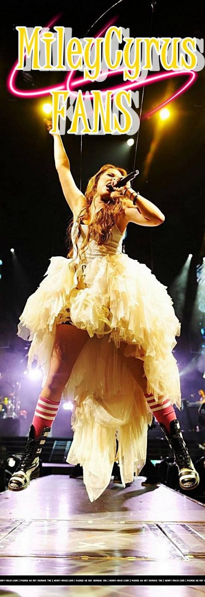 Miley Cyrus Fans Tour Dates