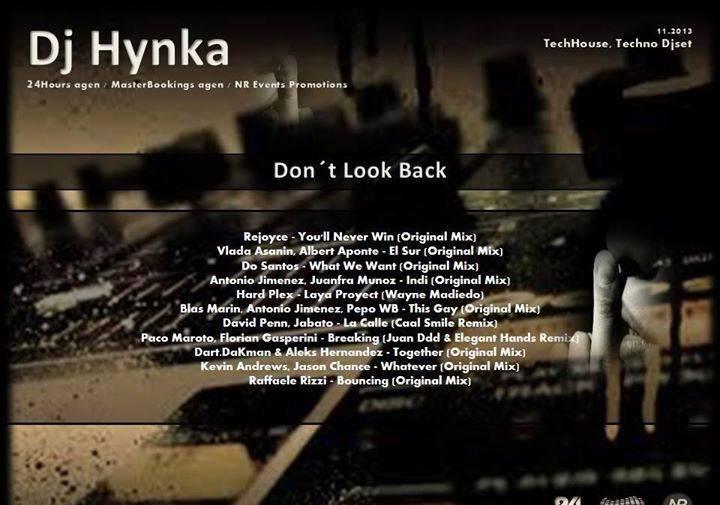 Dj Hynka Tour Dates