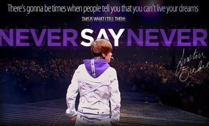 Never Say Never Tour Dates