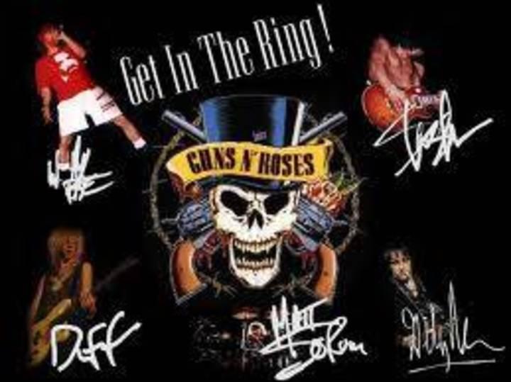 Guns N Roses frases Tour Dates