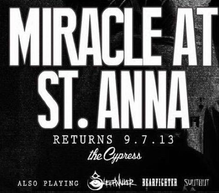 Miracle at St. Anna Tour Dates