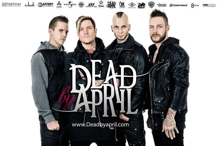 Dead by April @ Templet - Kongens Lyngby, Denmark