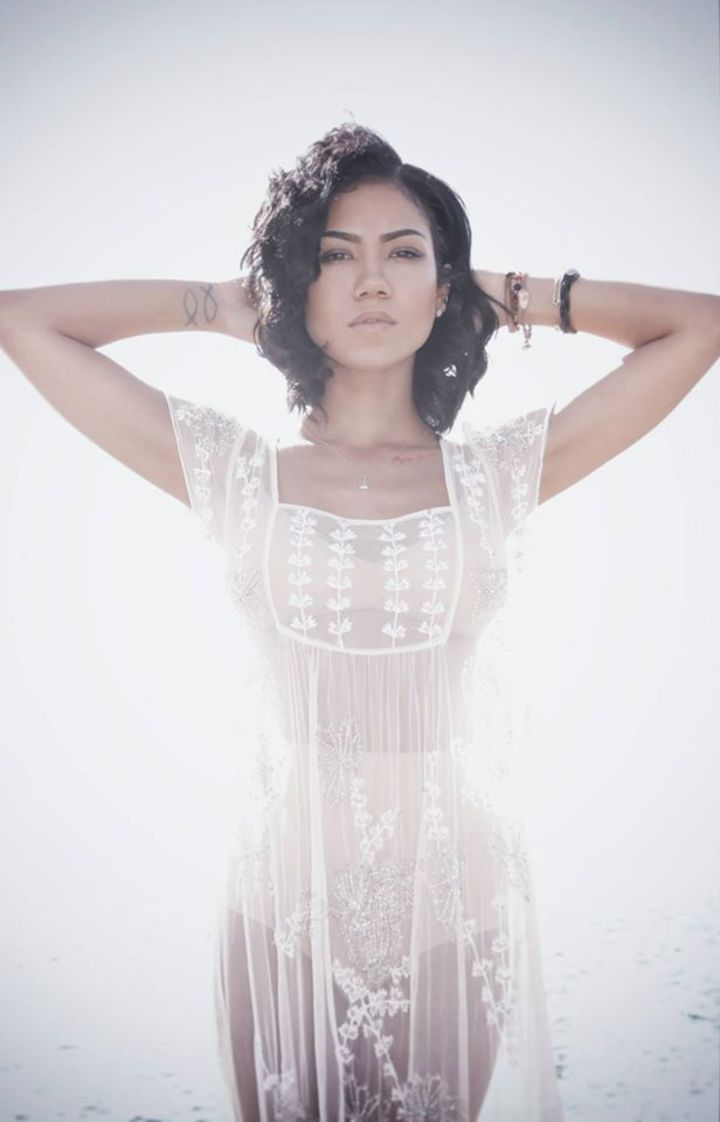 Jhene Aiko @ Boulevard Pool–Mophie Stage at the Cosmopolitan of Las Vegas - Las Vegas, NV