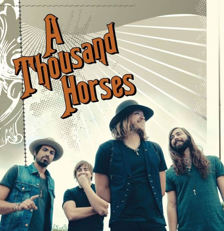 A Thousand Horses @ House of Blues Houston - Houston, TX