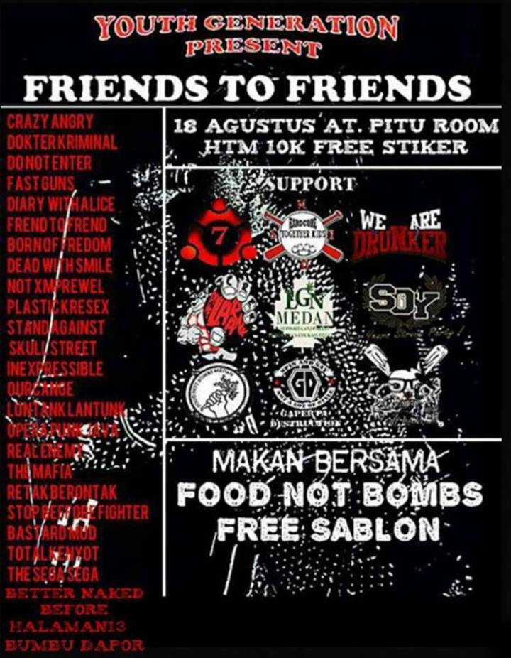 Frend To Frend (F.T.F) Tour Dates