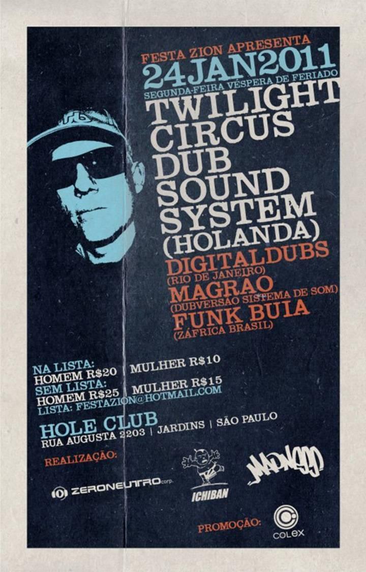 Twilight Sound System Tour Dates