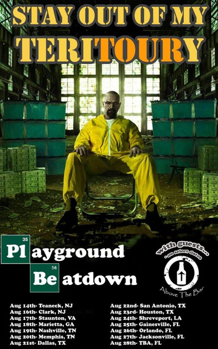 Playground Beatdown Tour Dates