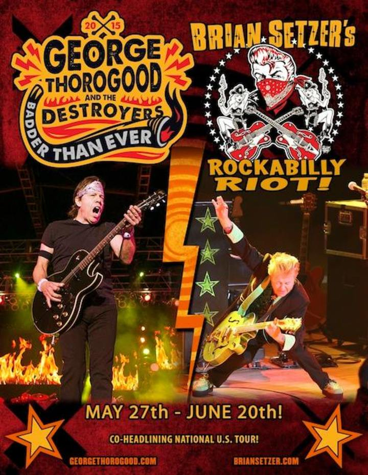 George Thorogood & The Destroyers @ Hamilton Place Theatre - Hamilton, Canada