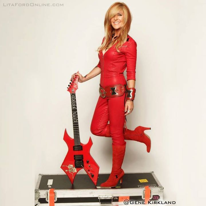 Lita Ford @ Bell Centre - Montreal, Canada