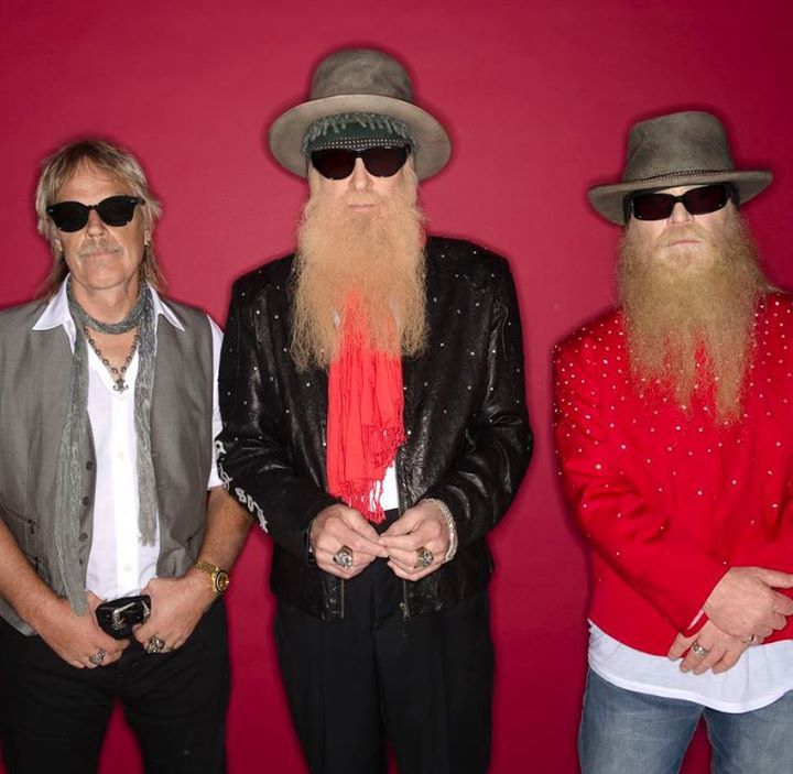 ZZ Top @ Arts Centre Melbourne, Sidney Myer Music Bowl - Melbourne Vic, Australia