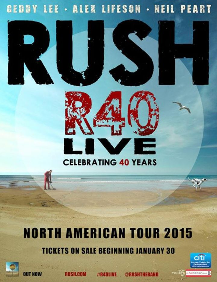 Rush @ Saratoga Performing Arts Center - Saratoga Springs, NY