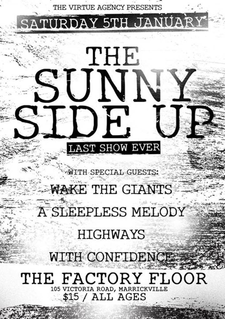The Sunny Side Up Tour Dates