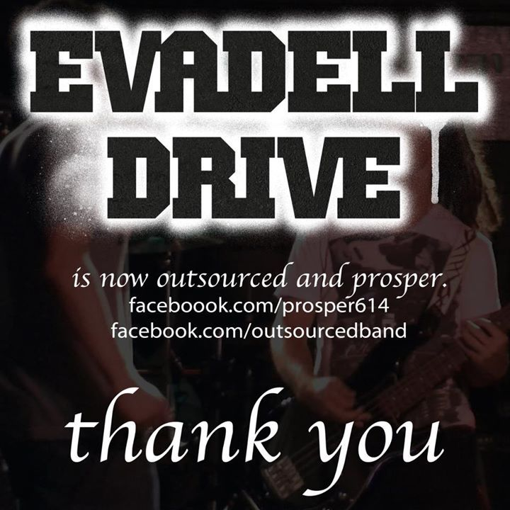 Evadell Drive Tour Dates