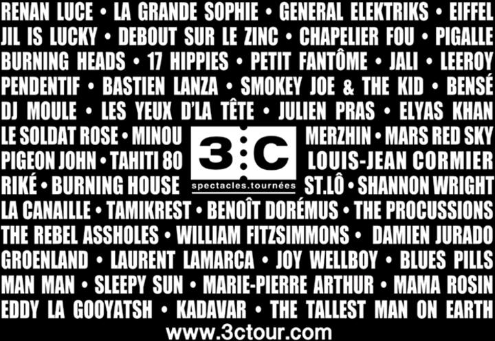 3C @ La Cigale - Paris, France