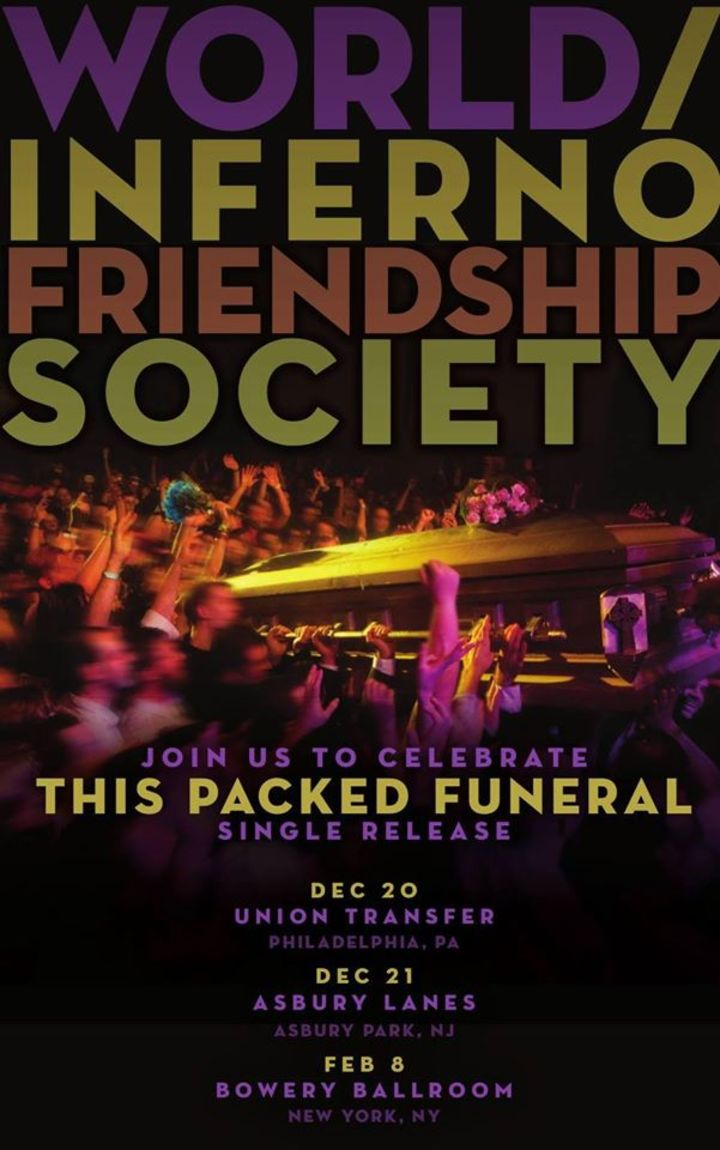 The World/Inferno Friendship Society @ Union Transfer - Philadelphia, PA