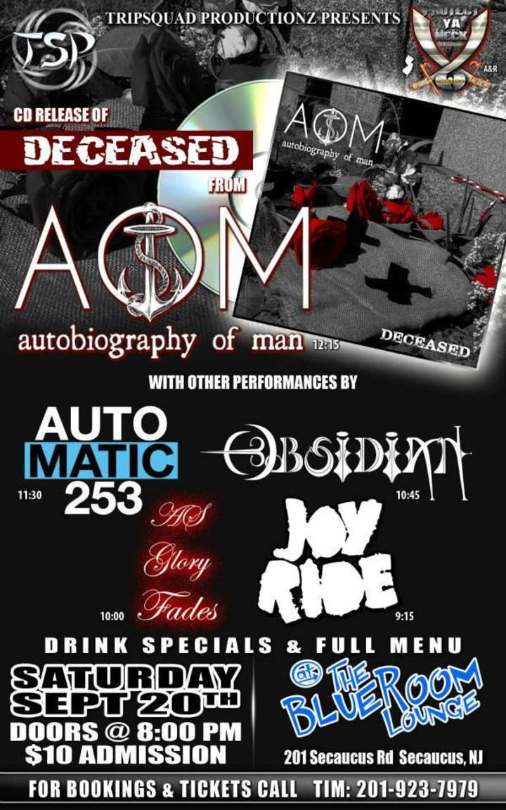 Autobiography of Man @ Avenge Me Release - Lodi, NJ