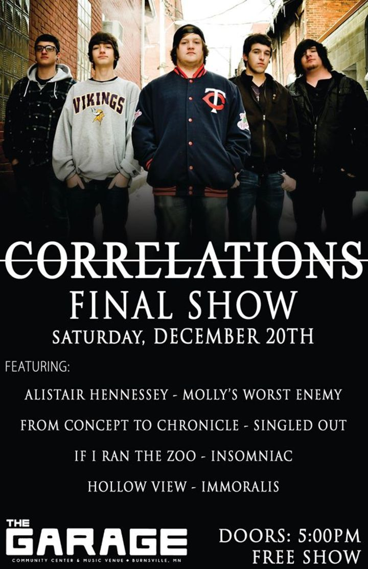 Correlations @ The Showcase - Racine, WI