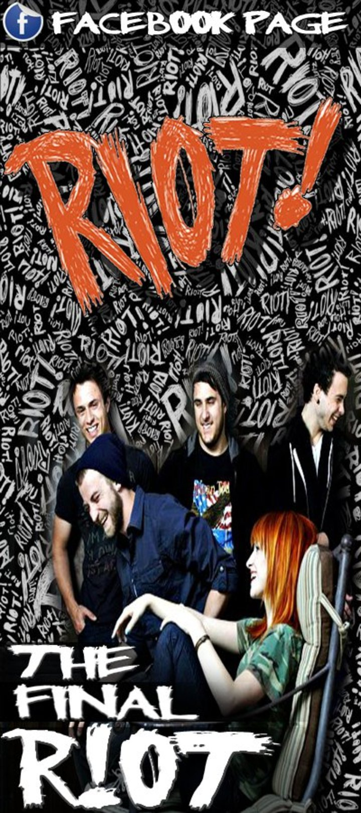 The Final Riot!! Paramore lmL Tour Dates