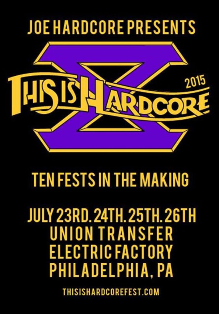 This Is Hardcore @ The Electric Factory - Philadelphia, PA