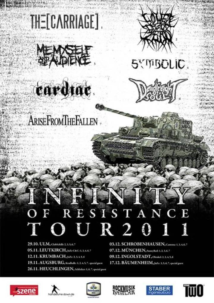 Infinity of Resistance Tour Tour Dates