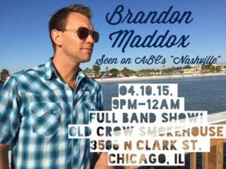 Brandon Maddox Tour Dates