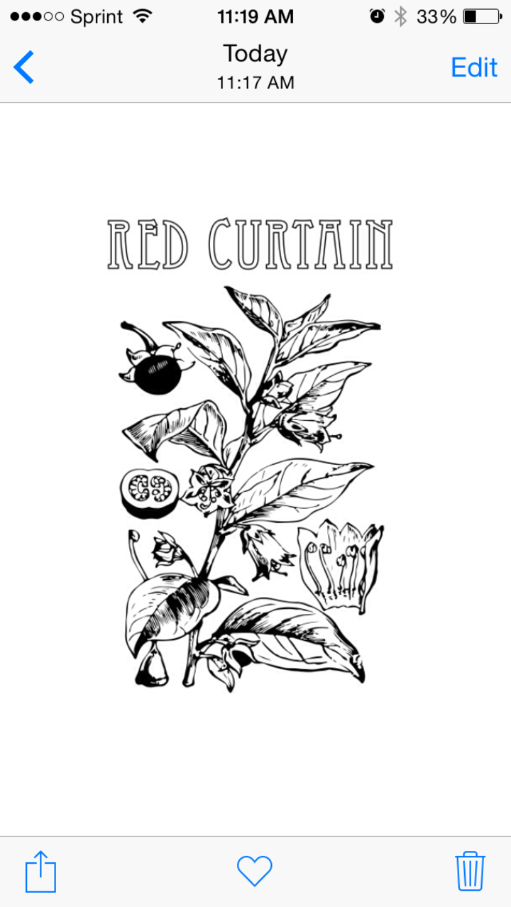 Red Curtain Tour Dates