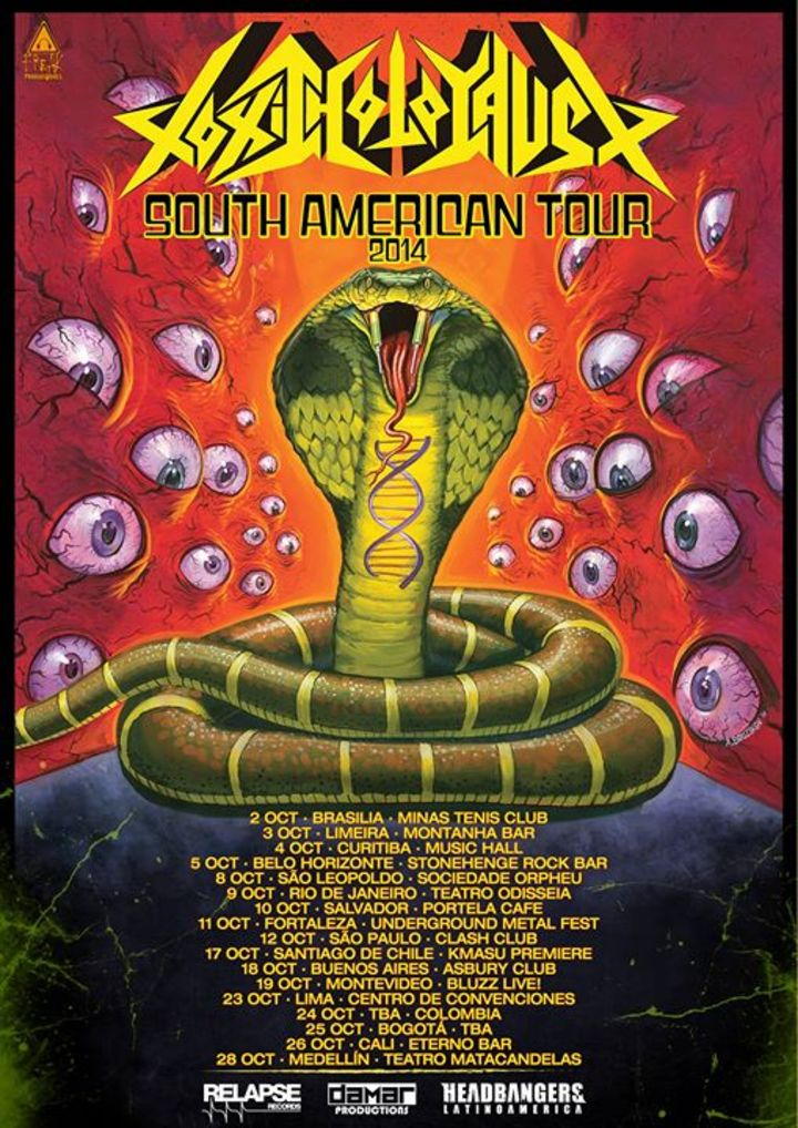 Toxic Holocaust Tour Dates